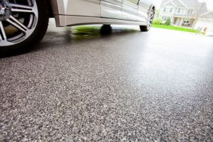 Epoxy flooring vs tiles for garages
